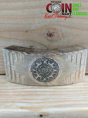 Beautiful Sterling (.925) Silver Belt Buckle  #23576