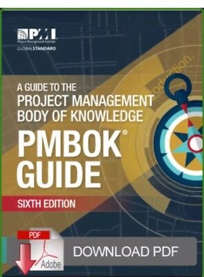 Project Management PMBOK 6th Edition E B00K