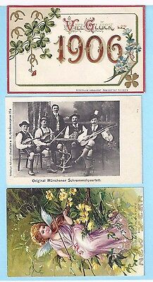 1905-1910 lot of 9 Postcards from Germany - New and Unused- NICE!!