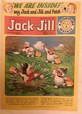 Vintage Jack and Jill Comic:  25th October 1980