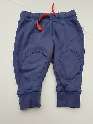 Frugi navy blue joggers age 0-3 months