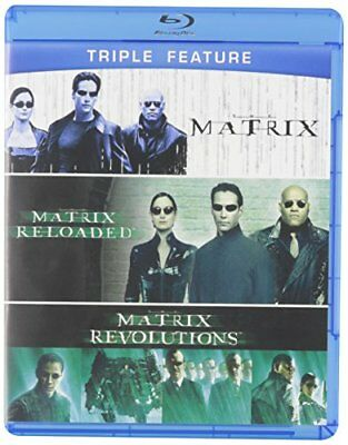 The Matrix Triple Feature (The Matrix / The Matrix Reloaded / Th (DVD Used Good)