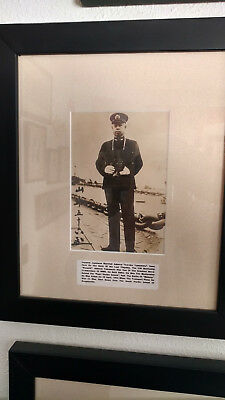 WWII Imperial Japanese Professionally Framed Historical Photographs.