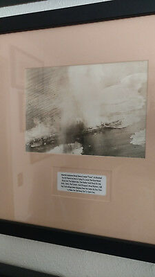 WWII Imperial Japanese Professionally Framed Historical Photograph.