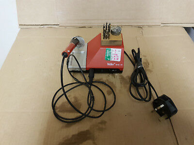 Weller WHS40 Temperature Controlled Solder Iron Station 240v 200C to 450C.