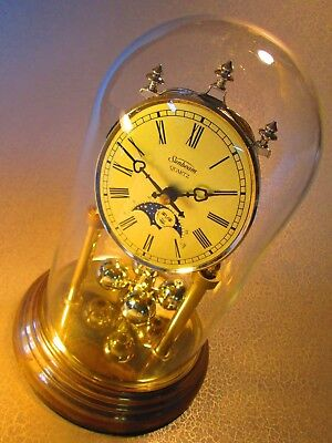Vintage Sunbeam Anniversary Clock With Moon Phase By Sunbeam Works Germany