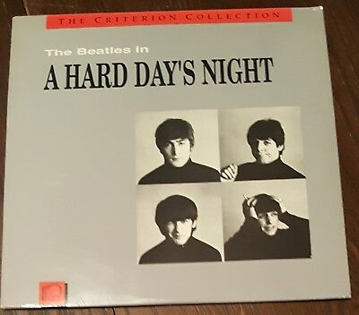 The Beatles A Hard Day's Night Criterion Laser Disc LD