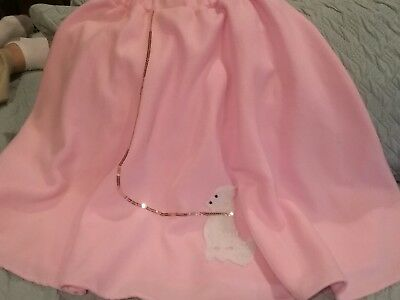 Young Women/Teen 50's Style Cute Poodle Skirt  *Grease* 0R  *50s Party*