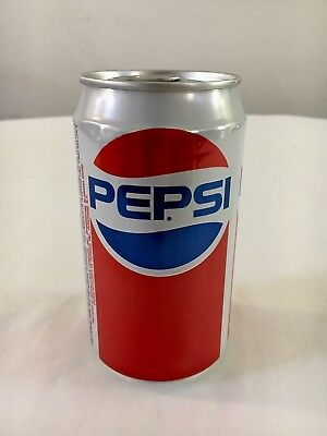 Late 80s Pepsi Can, Unopened & Empty