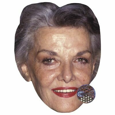 Jane Russell (Smile) Maske aus Pappe