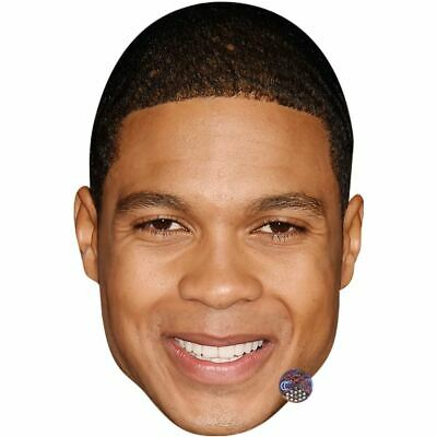 Ray Fisher (Smile) Maske aus Pappe