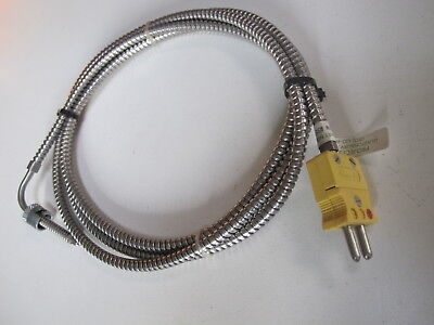 PROJECTS INC Solid Probe Bayonet S.S Cable Thermocouple 250F05432 250F03943