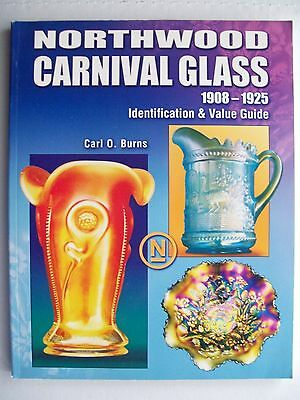 RARE NORTHWOOD CARNIVAL GLASS PRICE GUIDE COLLECTOR'S BOOK Pitcher's Vase Bowls