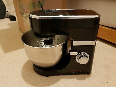 Cooks Professional Electric Food Stand Mixer with 4.5L Bowl 800W Black
