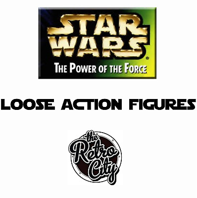 Vtg Star Wars POTF2 The Power Of The Force Loose Action Figures 90s