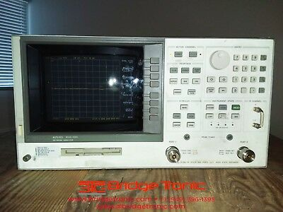 Agilent 8753D Network Analyzer - 30 kHz - 6 GHz