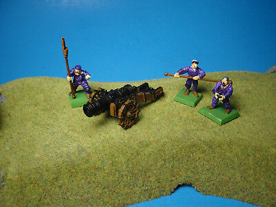 Warhammer Age of Sigmar Empire Cannon and Crew Plastic Miniatures a