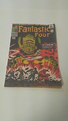 Fantastic Four #49 (April 1966, Marvel), Coverless, Complete, 1st appearance