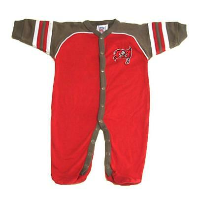fd39b757e New NFL Infant Tampa Bay Buccaneers Sleeper 0-3 Months Red Outfit Baby