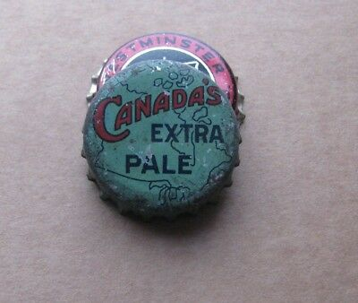 Canada's Extra Pale Cork Beer/brew Cap North American Brewing  Chicago Illinois