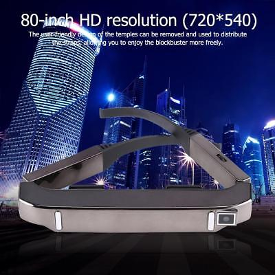 VISION-800 Android WiFi 3D VR Glasses 80in Virtual Screen Theater Video Glasses