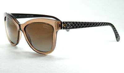 48177ea9500de Chanel Authentic Womens Sunglasses 5183 c.714 S9 Amber Brown Made In Italy  EUC!