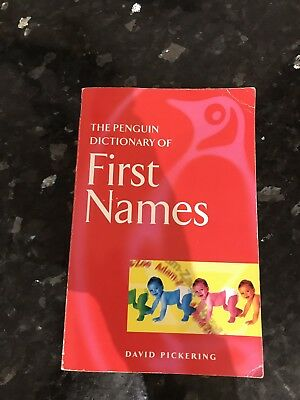 Baby First Names Naming Idea Book New Baby Used Book