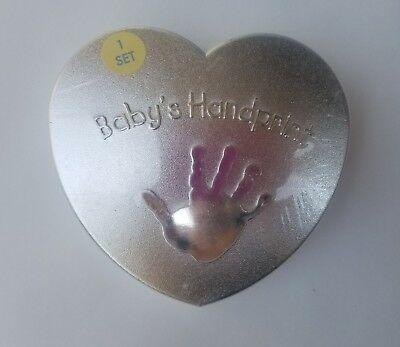 Baby Imprint Material With Real Diamond Namuri Pendant Baby Keepsake Gift