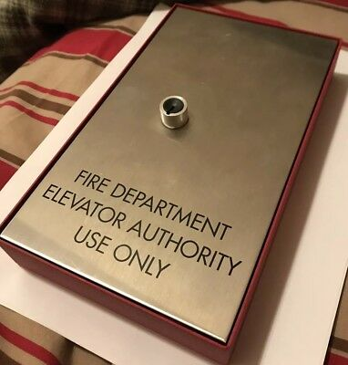 Fire Dept Elevator Key Box / Elevator Key / Fire Dept Key
