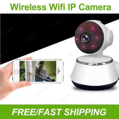 Wireless Wifi IP Camera HD PTZ Webcam Baby Pet Monitor CAM Remote Home Security