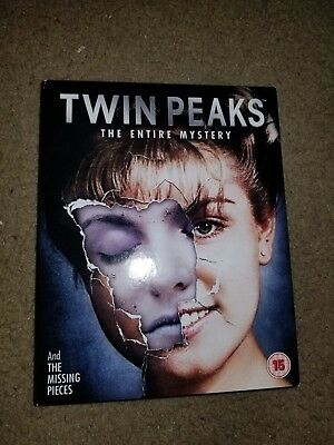 Twin Peaks: The Entire Mystery UK Import Blu-ray Set Region ALL Rated 15 Used