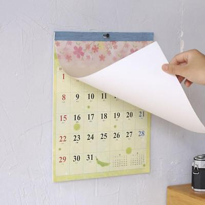 Wall Hanging Calendar Month to View Planner Easy View Calendar 2018.7-2019