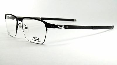 0e122aa28b Oakley RX Eyeglasses OX5099-0153 Tincup 0.5 Titanium Powder Coal Frame 53mm