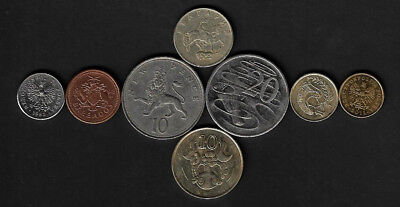 Lot Coins Collection Animals N10