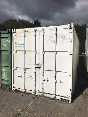 Shipping Container 20ft Used Water Tight And Dry, Also Has Electric And Lights
