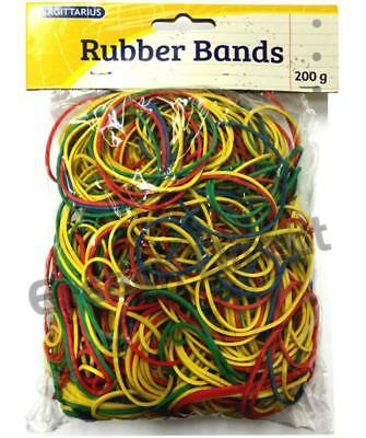 Rubber Bands Elastic SAGITTARIUS 400Pcs Strong For Home, School And Office 200G