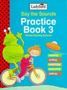 Say the Sounds Reading Scheme: Practice Book 3 (... | Book | condition very good