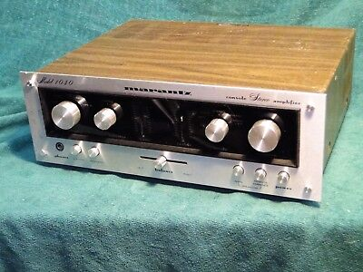 Marantz 1040 Console Stereo Amplifier Working