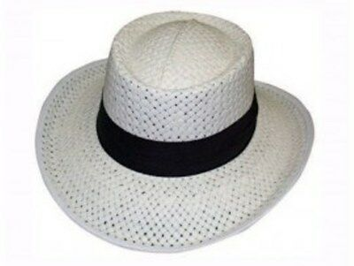 Lawn Bowls Hat  Full 7 cm Brim with Green Under Sun protection FREE POSTAGE