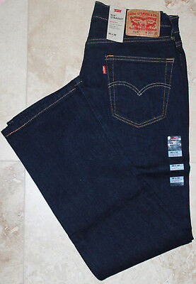 LEVI'S 514 men's Jeans STRAIGHT FIT stretch NEW WITH TAGS color: Dark Hollow