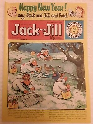 Vintage Jack and Jill Comic: 3rd January 1981