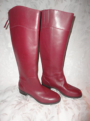 Nine West Vintage American COUNTER boots in WINE size 6 NEW box $169 VACOUNTER