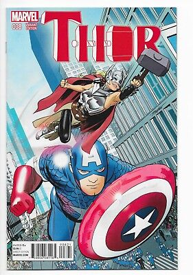 Marvel Thor Issue #8B (NYC Cover Variant) Vol. 4 July 2015