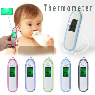 New Baby Thermometer LCD Digital Ear/Body Forehead Infrared Temperature Measure