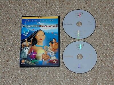Disney's Pocahontas I & II: Journey to a New World DVD 2012 2-Disc Set