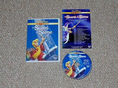 Disney's The Sword in the Stone Gold Collection DVD 2001 Complete