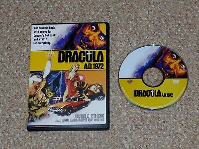 Dracula A.D. 1972 DVD 2005 Christopher Lee Peter Cushing Hammer