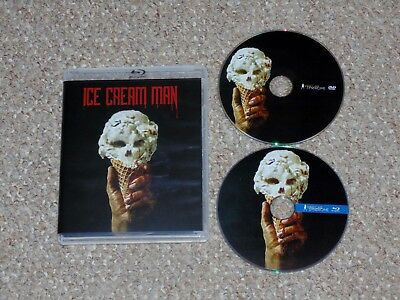 Ice Cream Man Blu-ray/DVD Combo Vinegar Syndrome Clint Howard