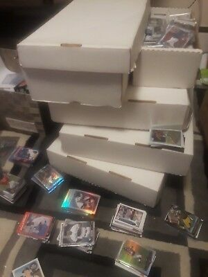 Huge COLLECTION Football Card Lot Estate Game Used AUTOGRAPH - 60 CARDS