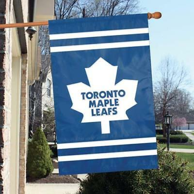 """Toronto Maple Leafs Applique NHL Licensed 28""""x44"""" Banner / Flag - Free Shipping"""